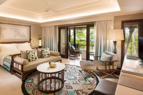 die Junior Suite des Constance Lemuria in Praslin